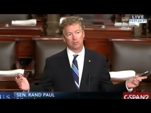"MUST SEE! RAND PAUL ""ARE YOU FOR THE WAR OR AGAINST THE WAR?"""
