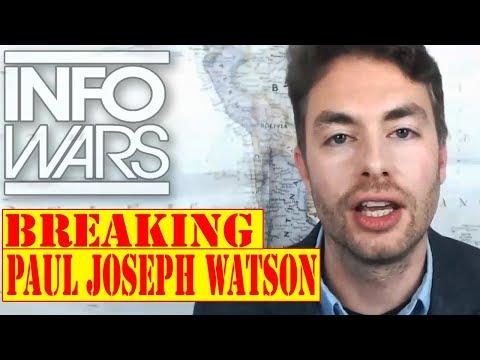 PAUL JOSEPH WATSON, STAGED by SHADOW GOVERNMENT..? ALEX JONES 10/2/17 (pt-2) INFOWARS