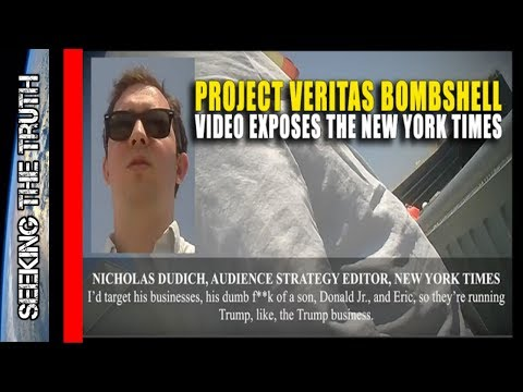 Video Exposes Anti Trump New York Times Conspiracy - Project Veritas
