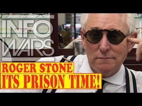 ROGER STONE, RAGE the MACHINE! 10/18/17 (pt-5) ALEX JONES INFOWARS