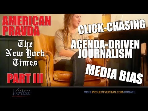 American Pravda, NYT Part III – Senior Homepage Editor Reveals Biased Political Agenda at NYT