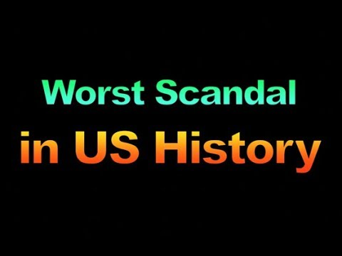 1857, The Worst Scandal in US History, 1857
