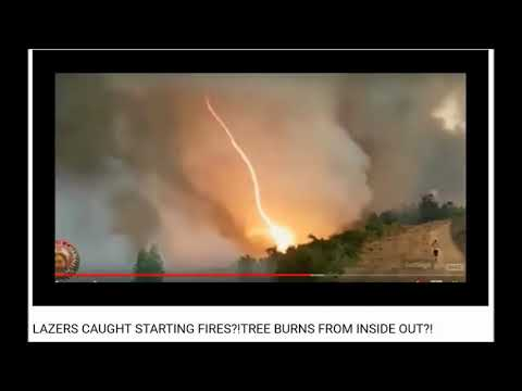 Fire Proof Evidence of Directed Energy Used in CA Fires