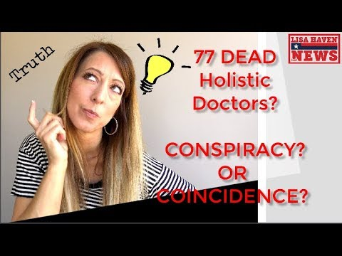 Holistic Doctors Dropping Like Flies, 77 Dead—Big Pharma, Big Conspiracy?