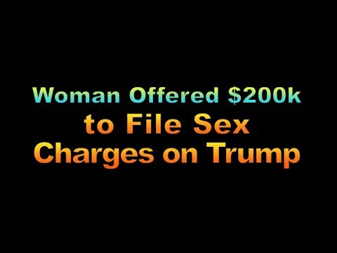 Woman Offered $200,000 to File Sex Charges on Trump, 1934