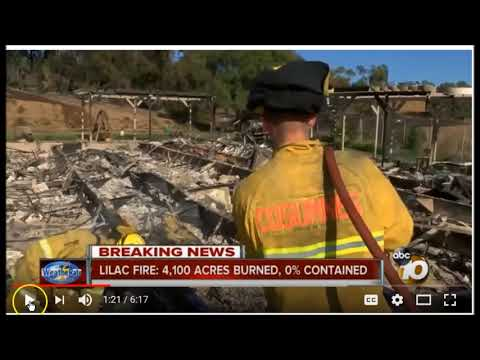 Let it Burn Baby Burn; The Agenda 21 CA Smart Fires Continues On