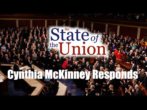 State of the Union - Cynthia McKinney Responds