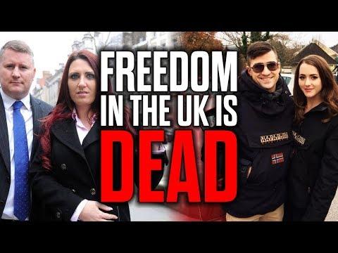 Freedom in the UK is Dead - Sellner & Pettibone BANNED