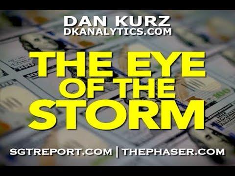 THE EYE OF THE STORM  -- Dan Kurz