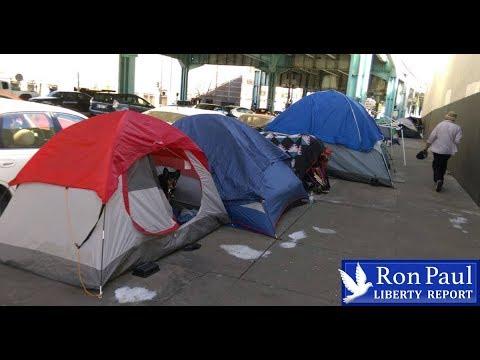 Economic Boom? … Why Is Homelessness Skyrocketing?