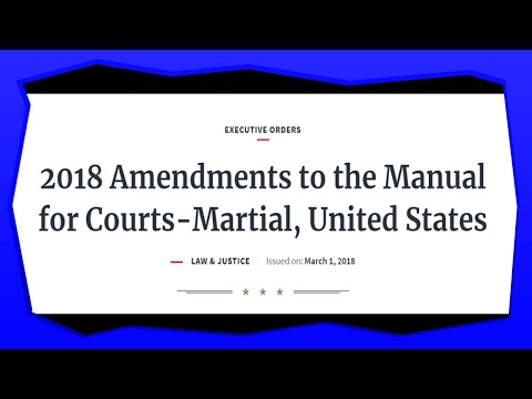 Military Tribunals Coming: How You Can Help