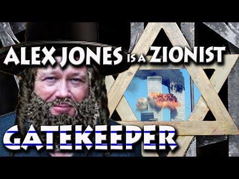 """Christopher Bollyn Calls Alex Jones a Zionist """"Gatekeeper"""""""