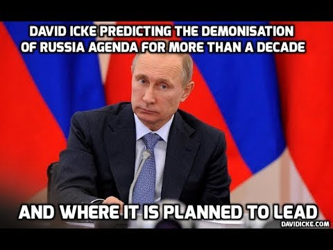 PROVED RIGHT AGAIN: David Icke predicting the war on Russia and explaining why