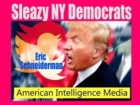 Trump blasts tweets about Schneiderman