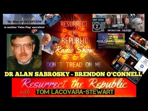 DR ALAN SABROSKY - BRENDON O'CONNELL with Tom Lacovara-Stewart on Resurrect the Republic
