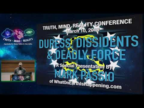 9th- Mark Passio Truth, Mind, Reality Conference 2018