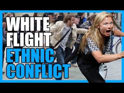 Phenomena of White Flight and The Inevitable Ethnic Conflict