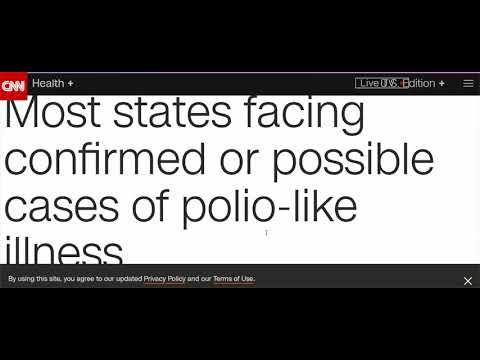 Depopulation Via Vaccines & Viruses Accelerates - Polio, Thyphus, Small Pox Return?