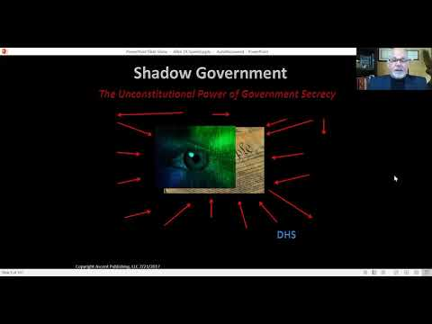 `Shadow Government Break Down - Part 1