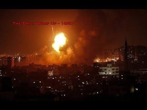 Israel Bombing Gaza While MSM Focuses On Synagogue Shooting, Ignoring Yemen Genocide & Russian War