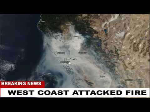 MORE PROOF WEST COAST WAS ATTACKED FIRE STORMS!!! Weather Warfare Liv