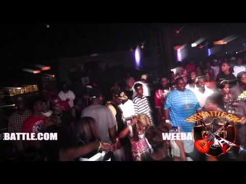 Young Buck Had to talk funky to the crowd that tried to spoil his going away party @ Lime Light Nash