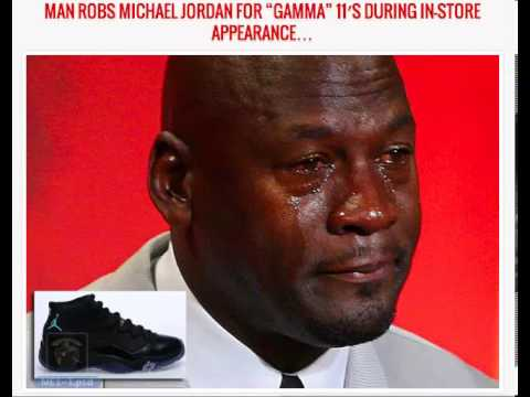 They got Michael Jordan for his shoes Gamma 11's