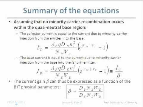 Electrical Engineering 105 - Lecture 7