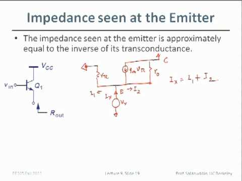 Electrical Engineering 105 - Lecture 9