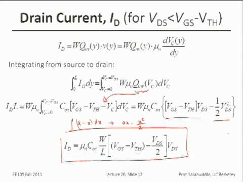 Electrical Engineering 105 - Lecture 21