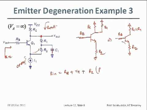 Electrical Engineering 105 - Lecture 12