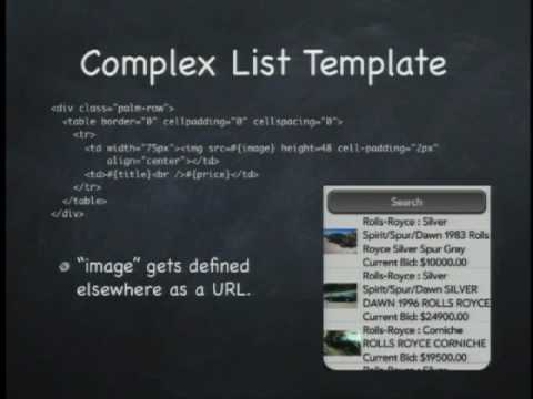 Lecture - 5 Developing WebOS Apps: UI Components, Services