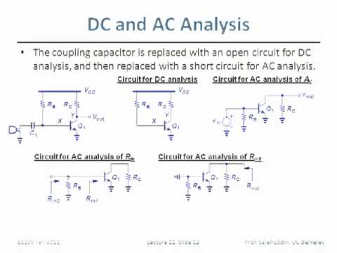 Electrical Engineering 105 - Lecture 11