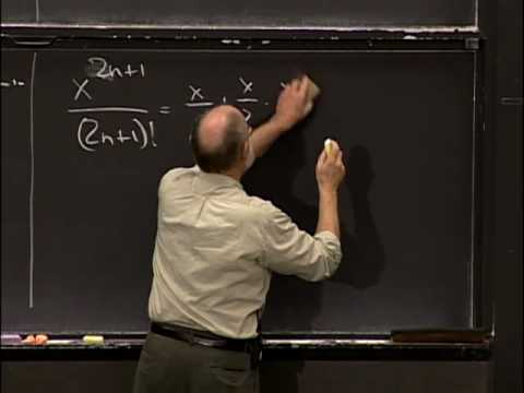 Lec 39 | MIT 18.01 Single Variable Calculus, Fall 2007