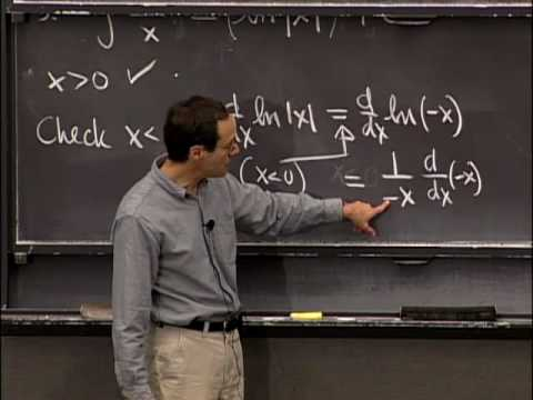 Lec 15 | MIT 18.01 Single Variable Calculus, Fall 2007