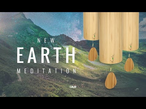 New Earth - Koshi Wind Chimes Healing Spring Meditation | Calm