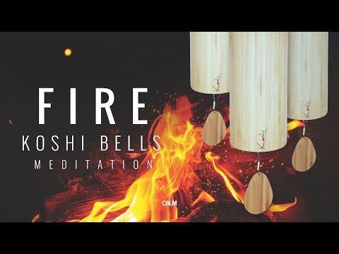 FIRE Koshi Wind Chimes Meditation - Warmth & Relax | Calm