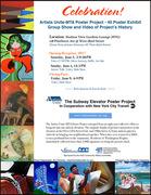 Artists Unite-MTA Poster Project Exhibit
