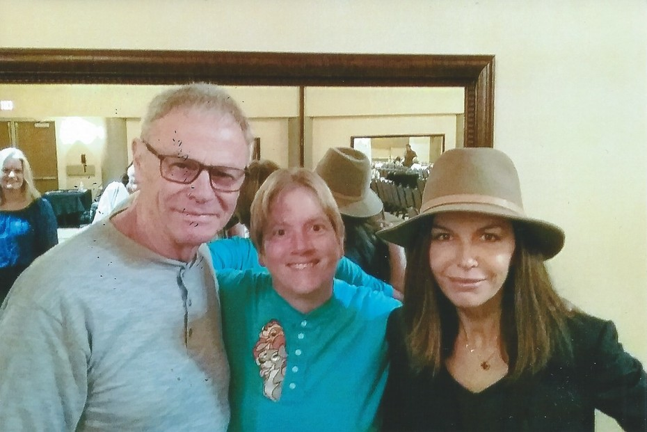 with Tristan Rogers and Finola Hughes Feb. 10, 2019