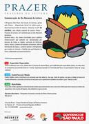 Comemoração do Dia Nacional da Leitura