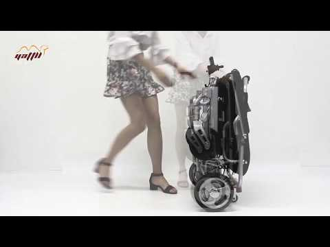 Brushless lightweight power wheelchair
