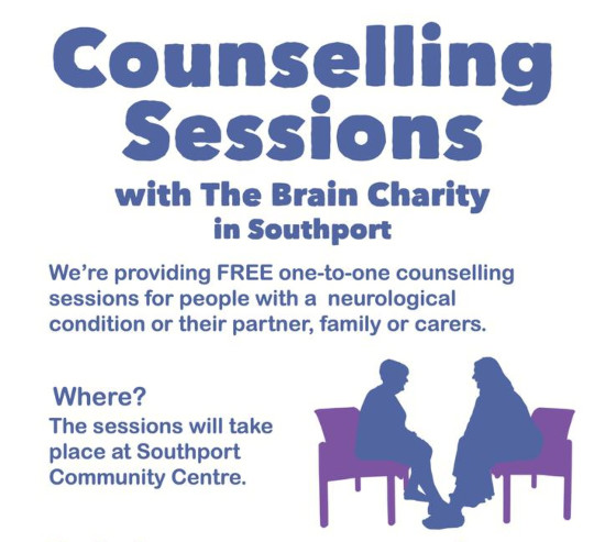 Brain Charity offers new counselling service in Southport