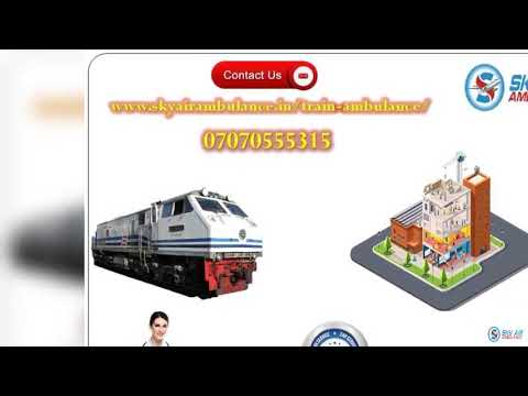Select Hi Class Train Ambulance Service in Jamshedpur and Mumbai