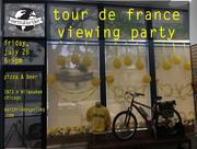 Tour de France Viewing Party