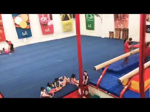 A DAY AT GYMNASTICS  SUMMER CAMP