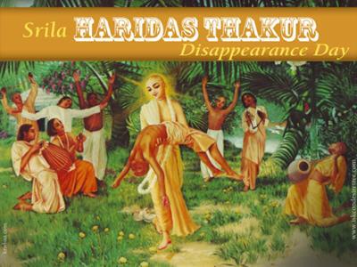 Srila Haridasa Thakura - Disappearance - ISKCON Desire Tree | IDT