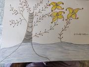 tree with three flower