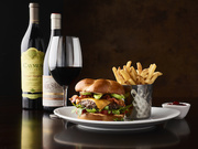 Caymus and a Burger at Fleming's Newport