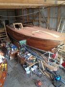 Min ombyggda båt