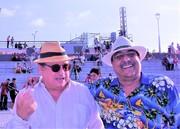 Con Miguel Iriarte, Director de PoeMaRio (1)